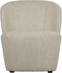 Naturelkleurige Vtwonen fauteuil Lofty