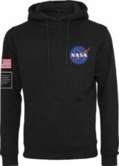 Mister Tee NASA Insignia Flag Hoody zwart