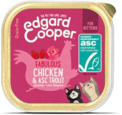 Edgard-Cooper Edgard&Cooper Kuipje Kitten - Kattenvoer - Kip Forel 85 g