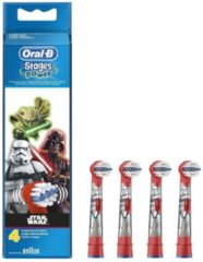 Oral-B Stages Power Kids Disney Star Wars opzetborstels - 4 stuks