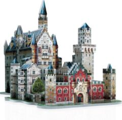 Wrebbit Neuschwanstein kasteel - 3D puzzel - 890 Stukjes