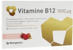Metagenics Vitamine B12 1000mcg Kauwtabletten 84st