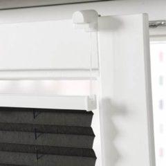 Donkergrijze Pure Living Pliss? met zijgeleiding Crushed Raven Grey - 90x130 cm