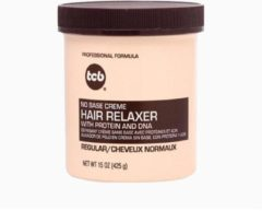 Merkloos / Sans marque TCB No Base Creme Hair Relaxer, Regular 15 oz