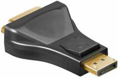 Zwarte DisplayPort naar DVI Adapter - Goobay