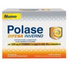 Pfizer Polase Difesa Inverno supporto delle difese immunitarie 14 bustine polvere effervescente gusto arancia