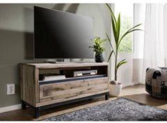 TV-Board VILLANDERS Massivmoebel24 bianco