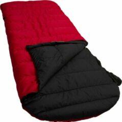 Rode LOWLAND OUTDOOR® Donzen slaapzak - Ranger Comfort - 230 x 80 cm (incl. capuchon) - 1195gr - 0°C - Nylon