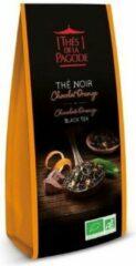 Zwarte Thee Chocolade & Sinaasappel - Losse Thee - Thés de la Pagode (100 gram)
