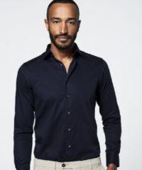 Shirtdeal - Uni Zwart Michaelis shirt (Extra lange mouw)-boordmaat: 41/7