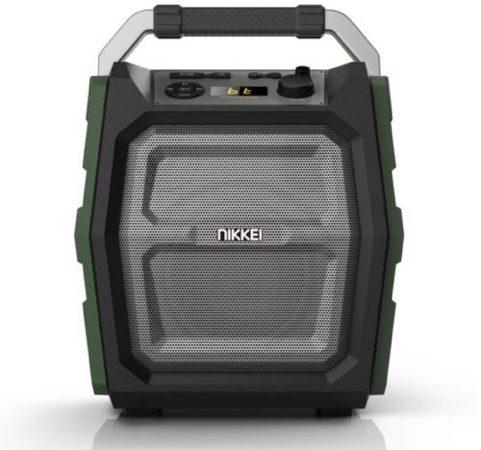 Afbeelding van Groene Nikkei SPEAKERBOXX300 Party Speaker 30 Watt met FM Radio, Bluetooth, Microfoon, Micro SD, Aux-in en USB ingang