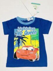 Disney Cars t-shirt - donkerblauw - maat 80 (18 maanden)