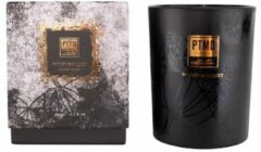 Zwarte PTMD Elements Fragrance Candle Woody Bouquet 450 gr