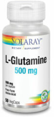 Solaray L-Glutamine 500 mg 50 Vegetarische Capsule