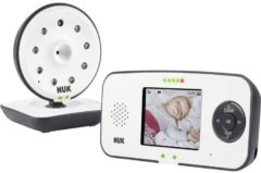 Witte NUK Eco Control Video 550VD Babyfoon met Camera en Display