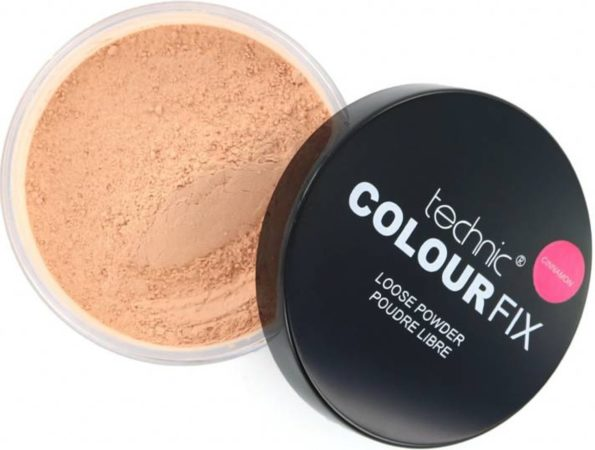 Afbeelding van Beige Technic Colour Fix Loose Powder - Cinnamon