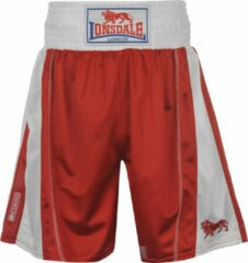 Rode Lonsdale Performance Trunks - Boksbroek - Maat XXL