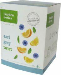 Zwarte Thee - Earl Grey Twist - Garden Series Box (48 piramidebuiltjes)