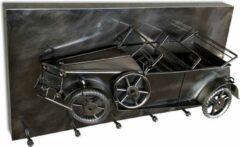 Haku Mobel Haku Vintage 3D Kapstok - Auto Oldtimer - Zilver