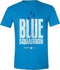 Star Wars - Blue Squadron T-Shirt - Blauw - XL