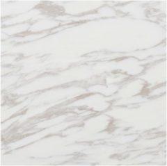 VidaXL Vloerplanken zelfklevend 5,11 m² PVC wit marmerpatroon