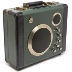 Groene GPO Retro Manga Bluetooth Speaker and Guitar Amp - Green/Black