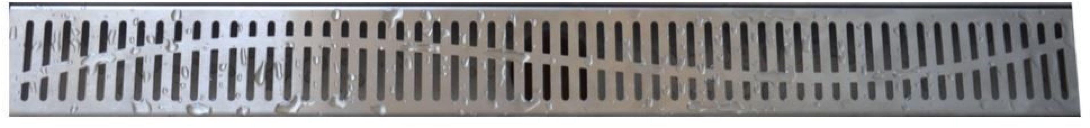 Afbeelding van Zilveren Praya Los rooster type 5 tbv 3e gen douchegoot 100cm 33.4265