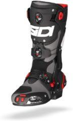 Grijze sidi rex grey black motorcycle boots