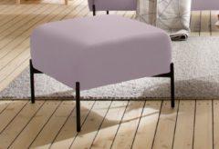 Rosa Andas Hocker »Bold«, edles, skandinavisches Design, mit Stahlbeinen