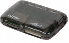 Zwarte ABC-Led 24-in-1 Cardreader Ultra Slim USB2.0 - Zwart