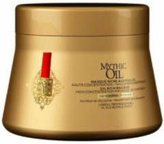 L'Oréal Paris (public) Loreal Serie Expert Mythic Oil Mask Thick Hair 200 ml haarmasker Vrouwen