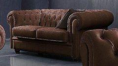 Max Winzer® Chesterfield 2-Sitzer Sofa »Kent« im Retrolook, mit edler Knopfheftung