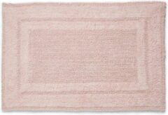 Paarse Seahorse Mossa Badmat - 100% Katoen - Badmat (60x90 Cm) - Pearl Pink