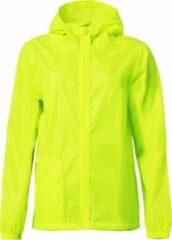 Clique Basic rain jacket signaalgeel m/l