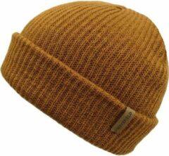 Basic Muts Licht Bruin - Camel Beanie - Wakefield Headwear - Mutsen
