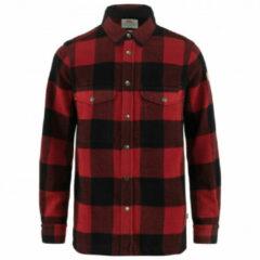 Fjällräven - Canada Shirt - Overhemd maat L rood/zwart