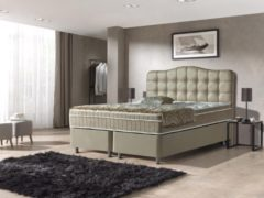 Dreamhouse Boxspringset Marrakech 180x200 | Taupe | Opbergboxspring