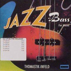 Thomastik-Infeld JF346 Jazz Flat Wound Long Scale 6-snarig