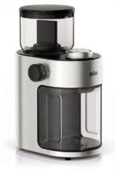 Braun Koffiemolen 15standen 2-12kpjs 220gr reservoir 110w RVS