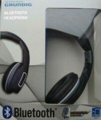 Zilveren Grundig bluetooth koptelefoon opvouwbaar stereosound oplaadbaar zwart