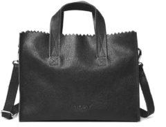 Zwarte MYOMY My Paper Bag Handbag Cross-body Rambler Black Handtas MOM10670631-N