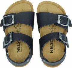 Nelson Kids jongens sandaal - Blauw - Maat 32