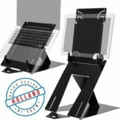 R-Go tools R-Go Riser Duo Tabletstandaard en Laptopstandaard verstelbaar zwart