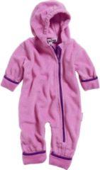 Playshoes Babypyjama Onesie Fleece Meisjes Roze Maat 62