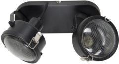 Selected by Satellite 2 plafondlamp/wandlamp metaal zwart