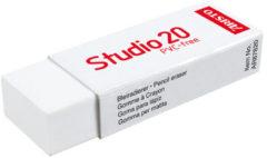 Witte Gum Aristo Studio 20 - voor potlood en kleurpotlood