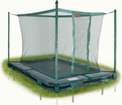 Avyna Veiligheidsnet tbv 213 InGround trampoline (280x185) Groen