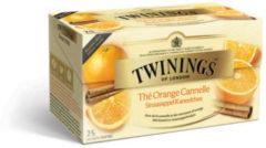 Twinings Sinaasappel kaneel thee 25 Stuks
