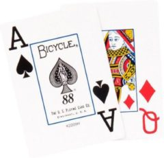 Witte Bicycle Poker kaarten Bycicle