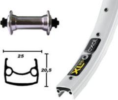 """Bike-Parts Vorderrad 26"""" Exal XL-25 gespeicht 36 Loch, Nabe Shimano TX800, silber (1 Stück)"""